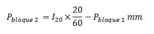 Fórmula bloque alterno 2
