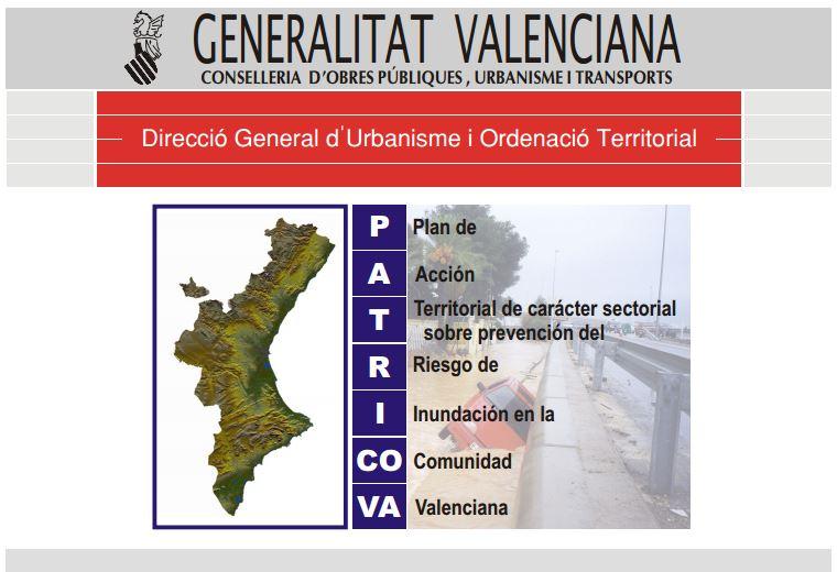 Plan Acción Territorial Prevención Riesgo Inundaciones Comunidad Valenciana