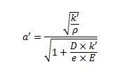 Celeridad o velocidad a la que se propagan las perturbaciones (ondas de presión)