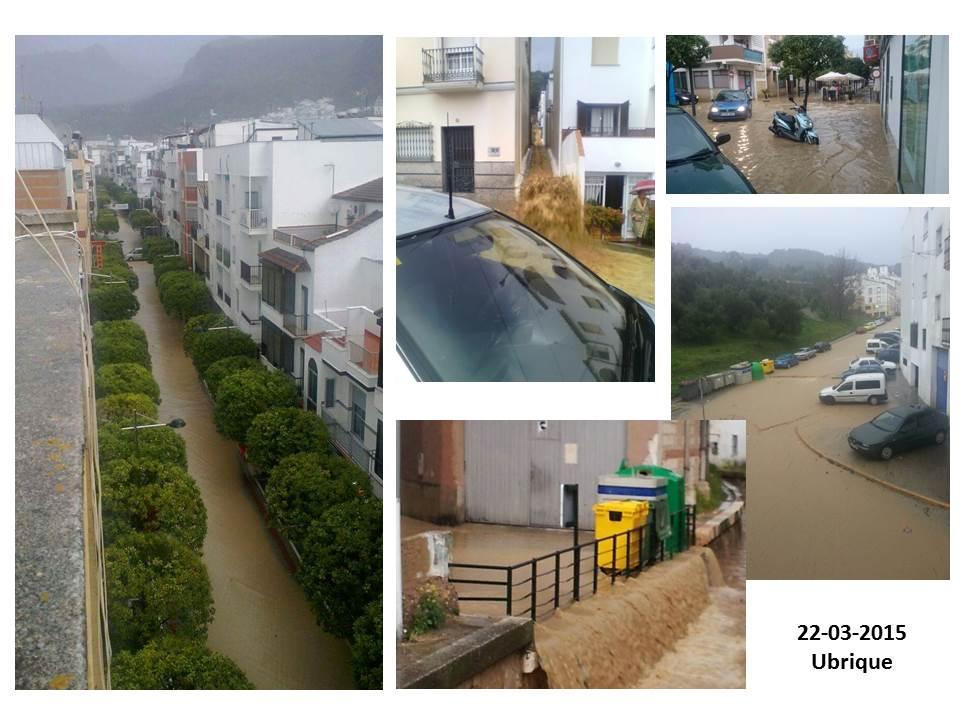 Inundaciones Ubrique en marzo de 2015