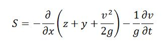 Ecuación onda dinámica