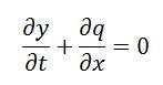 Ecuación continuidad