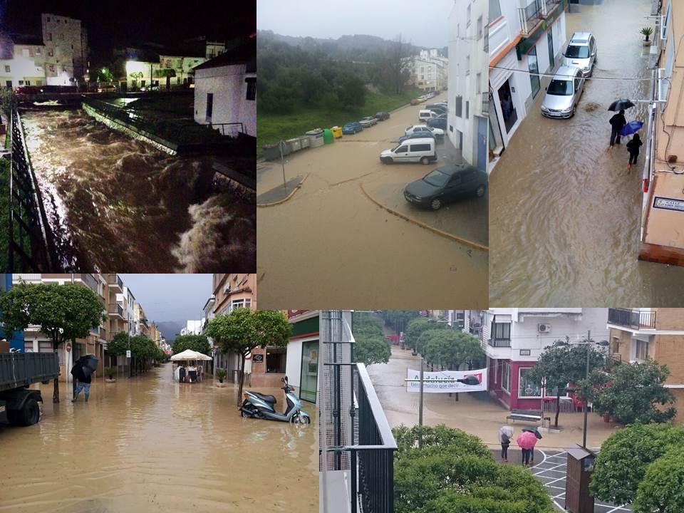 Inundaciones en suelo urbano