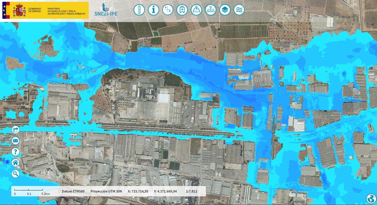 Sistema Nacional de Cartografía de Zonas Inundables (SNCZI)