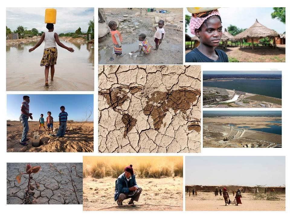 Sequías y cambio climático