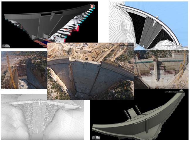 Boqaata Dam metodología BIM