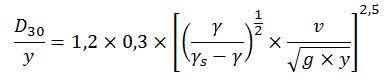 Fórmula de Maynord et al. (1987)